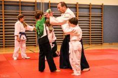 Aikido-Kindertraining in Linz, 07.11.2014 - Ikkyo