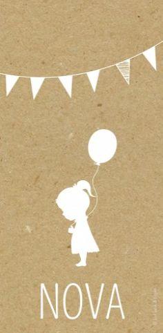 Geboortekaartjes zelf maken - Lief Leuk en Eigen - Nova - Kraft voor