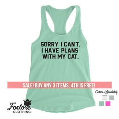 dd217c99ba7ff I'm Actually A Cat Tank Top Tee Racerback Women Ladies Men Funny ...