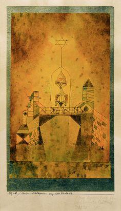 Bild: Paul Klee - Arlequin auf der Bruecke, 1920, 164.