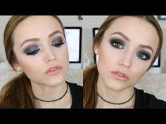 Love this gunmetal smokey eye look using Melt Cosmetics' gun metal eyeshadow stack Blue Eyeshadow, Colorful Eyeshadow, Kiss Makeup, Cute Makeup, Beauty Makeup, Makeup Tips, Casual Makeup, Simple Makeup, Vanities