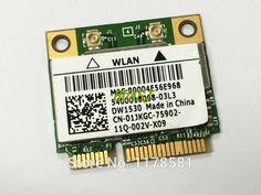 Mini pci-e wireless Wifi WLAN card for Dell Latitude E6420 E5510 Wifi network wwan Card DW1530 Broadcom BCM4322 802.11a/b/g/n #Affiliate