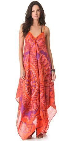 Theodora & Callum Phoenix Scarf Dress   SHOPBOP