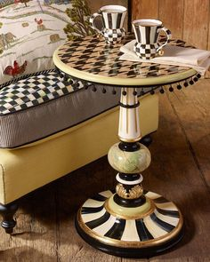 MacKenzie-Childs Houndstooth Table