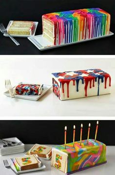 How cool are these cakes