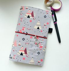 Fabric Cover Fauxdori, Travelers Notebook, Midori insert, Cover fabric, Fabric Midori book, Field Note, Passport Size, Standard Size Midori