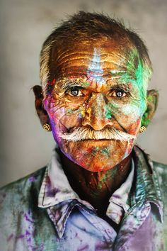 Great photographer! Like his way of looking trough the camera almost as much as I like Roberts Doisneau photos. (India - Steve Mc Curry)