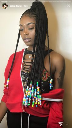 Braided hairstyles for women - Accessorized fulani Braids Hairstyles For Black Women Fishtail Braid Hairstyles, My Hairstyle, Braided Ponytail, Ponytail Styles, Black Girl Braids, Girls Braids, Birthday Hairstyles, Girl Hairstyles, Hairstyles 2016