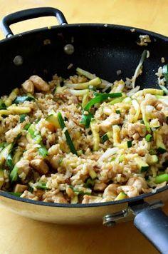 Cooking Recipes, Healthy Recipes, Healthy Food, Fried Rice, Ethnic Recipes, Healthy Foods, Chef Recipes, Healthy Eating Recipes, Nasi Goreng