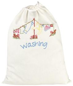 Cath Kidston - Trailing Floral Laundry Bag  23x17 in.