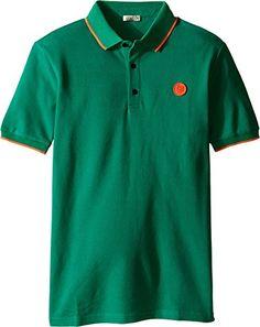 75f044b64e97 Kenzo Kids Boys Asto Polo Big Kids Light Green Polo Shirt 16A 16 Big Kids