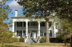 Georgia Realty Sales, Inc. - Home for Sale in Historic Washington, Georgia Old Southern Homes, Southern Plantation Homes, Southern Plantations, Southern Style, Old Mansions For Sale, Historic Homes For Sale, Gothic Revival Architecture, Architecture Old, Morris Homes