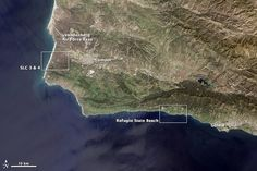 The majority of Earth science research satellites developed or operated by NASA in the past few decades have been launched from Vandenberg Air Force Base. The newest satellite in the venerable Landsat program launched from this spot along the central California coast on February 11, 2013, following the path of its seven predecessors.