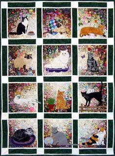 Rachel�s Cat Garden - 12 Block Watercolor Kit
