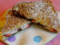 Nutella Grilled Cheese Sandwich