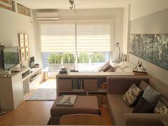 Cocina, salón, comedor y dormitorio en 32 m2