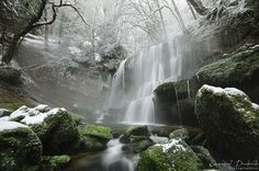 """The tears of winter"" Franche-Comté - France"