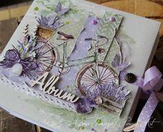 Фотография Scrapbook Journal, Mini Scrapbook Albums, Mini Photo Albums, Bicycle Cards, Mini Album Tutorial, Origami, Art N Craft, Shabby, Pretty Cards