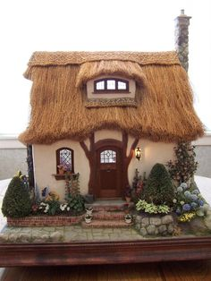 Thatch roof cottage by Teresa Layman                                                                                                                                                                                 More