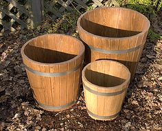 New Pine Barrels Decorative Planters, Ceramic Planters, Decorative Aggregates, Bamboo Screening, Pea Gravel, Planter Boxes, Barrels, Flower Beds, Garden Landscaping