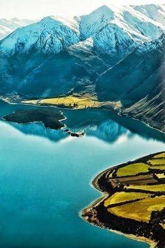 Lake Hawea South Island,New Zealand (Impressive Earth)