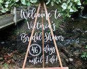 Bridal Shower Bingo, Bridal Bingo, Plan My Wedding, Wedding Signs, Wall Decals, Vinyl Decals, Vinyl Signs, Modern Fonts, Bingo Cards