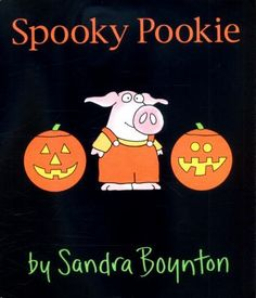 Spooky Pookie by Sandra Boynton. (New York : Little Simon, an imprint of Simon & Schuster Children's Division, Little Pookie tries to decide what is the perfect costume for this Halloween. Sheet Ghost, Sandra Boynton, Guided Reading Levels, Bunny Suit, Toddler Books, A Pumpkin, Halloween Kids, Bestselling Author, Division