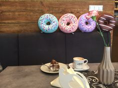 Donut pillow Food Pillows, Donuts, Bean Bag Chair, Sushi, Inspiration, Furniture, Ideas, Home Decor, Frost Donuts