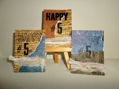 Daniella Hayes...Layers of Creativity: ATC's FOR WOYWW