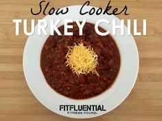 This slow cooker turkey chili recipe is the perfect example of comfort food that's healthy and tasty! Yummilicious!