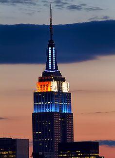 Empire State Building in Manhattan ... New York City