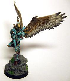 Dark Eldar, Scourges, Turquoise