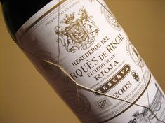 Marques de Riscal Reserva. Great reliable Spanish rioja wine. My personal favorite