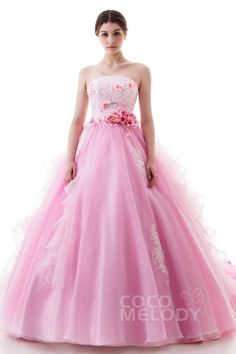 Blush pink quinceanera tulle ball gown home coming prom dress x004 ld4502 altavistaventures Gallery