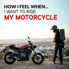 How I Feel Bike Quotes, How I Feel, Biker, Things I Want, Motorcycle, Feelings, Motorcycles, Motorbikes, Bicycle Quotes