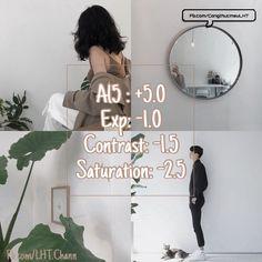 Korean Photography, Photography Editing, Photo Editing Vsco, Photo Retouching, Picsart Tutorial, Tutorial Vsco, Girl In The Box, Vsco Effects, Best Vsco Filters