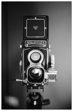 Rolleiflex T 75mm f3.5 Tessar TLR Medium format Camera
