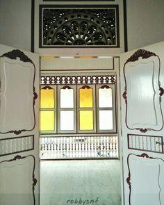 Interior of Palembang traditional house.