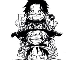 Image discovered by 𝖔𝖓 𝖙𝖍𝖊 𝖒𝖔𝖔𝖓 🌪. Find images and videos about one piece, ace and luffy on We Heart It - the app to get lost in what you love. One Piece Anime, One Piece Luffy, One Piece New World, One Piece Crew, Ace Sabo Luffy, One Piece Cosplay, One Piece Drawing, One Piece Images, Monkey D Luffy