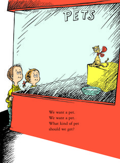 What Pet Should I Get? will hit shelves July 28. | Here's An Exclusive First Look At The New Dr. Seuss Book