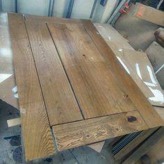 Constructing the parquet top while waiting the steel bases to come. #rustic #maison #countrystyle #country #rustiikki #uusvanha #cottage #interior #furniture #lantlig #lantliv #sisustus #maalais #salvage #woodworking #reclaimedwood #flooring #puuseppä #puuseppähaukipudas #puuseppäoulu #tabletop #coffeetable #sofatable #floorboard #parquet #steelframe #customwoodworking #carpentry #carpenter by rustiikkiruksi