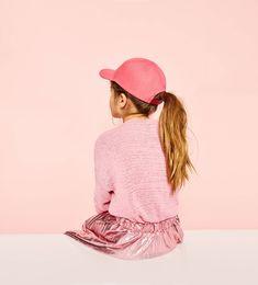 メタル加工アコーディオンプリーツスカート-今週の新商品-ガール (4歳-14歳)-キッズ | ZARA 日本