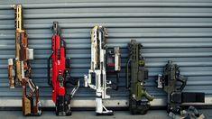 Redesigned nerf guns
