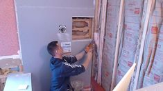 """(Educational) How to install shower surround tile backer board, PART """"2"""" durock or cem..."""