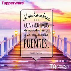 ¡Derrumba los muros! ¡Tú puedes! #Tupperware #Frases