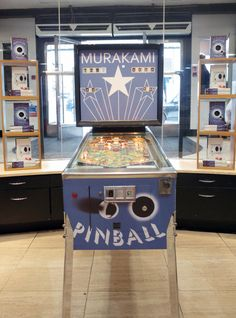 Haruki Murakami, Pinball, Poster, Outdoor Decor, Home Decor, Books, Summer, Decoration Home, Libros