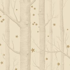 Cole & Son Whimsical Woods & Stars Wallpaper   Houseology