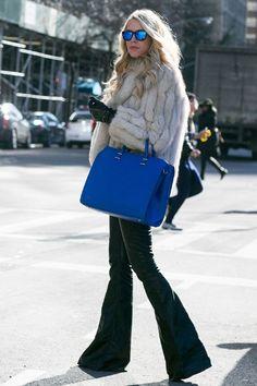 New York Fashion Week - Best streetstyle looks (7) - Elle.ro