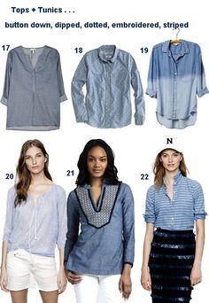 #chambray #shirts