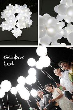 Globos Led! 10 piezas $150